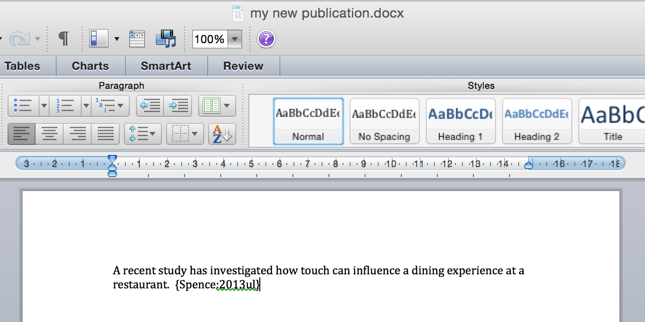 papers support mac how to insert citations into your documents