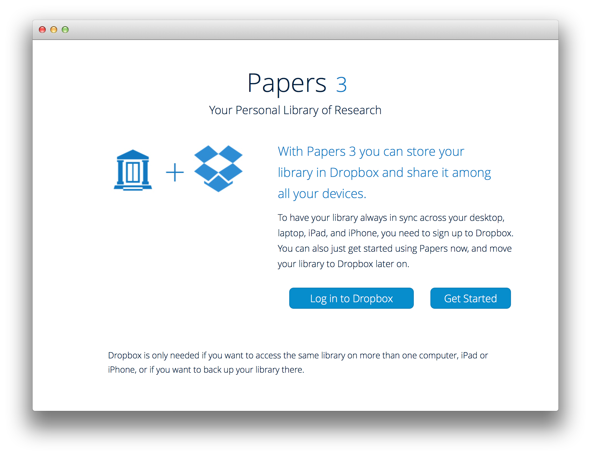 Quick start guide with Papers 3 for Mac :