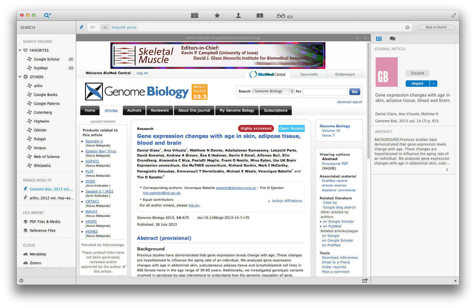How to search for new publications in Papers 3 for Mac :
